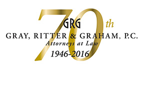 GRG 70th | Gray, Ritter & Graham, P.C. | Attorneys at Law | 1946-2016