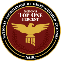 NADC Logo, National Association of Distinguished Counsel