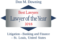 don downing lawyer of the year 2018