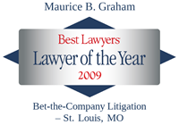 2009 Lawyer of the Year Award, Maurice Graham Best Lawyers