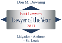 Don Downing Best Lawyers Award, 2013 Lawyer of the Year Award