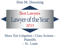 Don Downing 2015 Lawyer of the Year, Best Lawyers Award