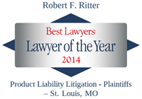 Robert Ritter Best Lawyers Award, 2014 Lawyer of the Year