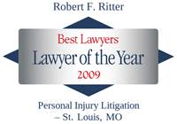 Robert Ritter 2009 Lawyer of the Year, Best Lawyers Award