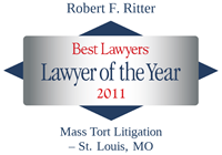 2011 Lawyer of the Year Award, Best Lawyers, Robert Ritter