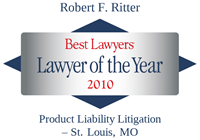 Robert Ritter 2010 Lawyer of the Year, Best Lawyers Award