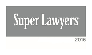 2016 Super Lawyers Logo